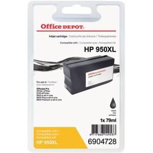 office depot kompatibel hp 950xl tintenpatrone cn045ae schwarz viking osterreich. Black Bedroom Furniture Sets. Home Design Ideas