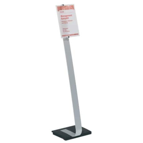 DURABLE Informationsschild Crystal Sign Stand 111 cm