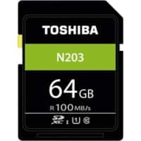 Toshiba SDXC Flash-Speicherkarte N203 64 GB
