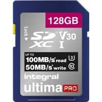 Integral SDXC Flash-Speicherkarte UltimaPRO V30 128 GB