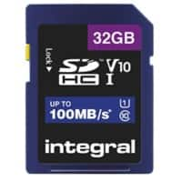 Integral SDHC Flash-Speicherkarte V10, 32 GB
