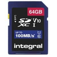 Integral SDXC Flash-Speicherkarte V10 64 GB