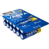 VARTA Batterien LONGLIFE Power AA 12 Stück