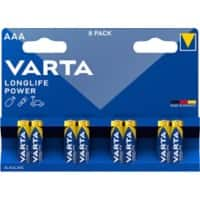 VARTA Batterien LONGLIFE Power AAA 8 Stück