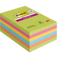 Post-it Super Haftnotizen 101 x 152 mm 6 Stück à 90 Blatt