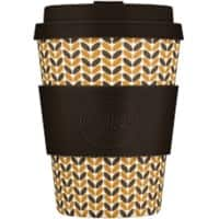 Ecoffee Cup Kaffeebecher Threadneedle 350 ml Braun