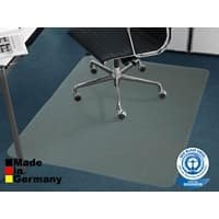 Floordirekt Pro Stuhlunterlage Teppich Recycling-PET Transparent 1150 x 1350 mm