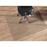 Bürostuhlunterlage Floordirekt Pro Floordirekt Pro Transparent Polycarbonat 1500 x 1500 mm