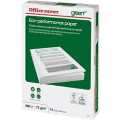 Office Depot Eco Performance Kopierpapier A4 75 g/m² Weiß 500 Blatt