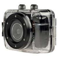 Camlink HD-Action-Kamera CL-AC10 Schwarz, Transparent 1.280 x 720 Pixels