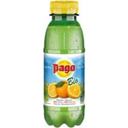 Pago Fruchtsaft 100% Orange 12 Flaschen à 330 ml