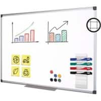 Office Depot Superior Whiteboard Emaille Magnetisch 150 x 100 cm