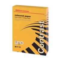 Office Depot Contrast Färbiges Kopierpapier A4 80 g/m² Intensiv Orange 500 Blatt