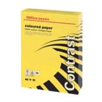 Office Depot Farbiges Kopier-/ Druckerpapier A4 80 g/m² Intensives Gelb 500 Blatt