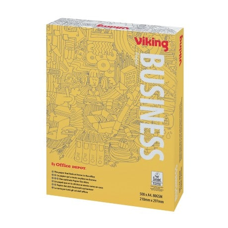Viking Business Multifunktionspapier A4 80 g/m² Weiß 500 Blatt