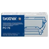 Brother Thermotransferrolle PC75A Schwarz