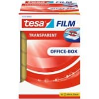 tesafilm Klebefilm 57379 Office Box Polypropylen 25 mm x 66 m Transparent 6 Rollen