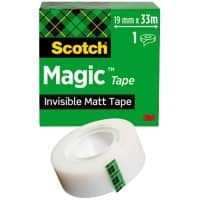 Scotch Magic Klebefilm 19 mm x 33 m Invisible