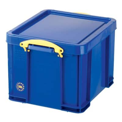 Really Useful Boxes Aufbewahrungsbox Blau 48 x 39 x 31 cm