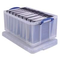 Really Useful Boxes Aufbewahrungsbox 64CCB 64 L Transparent Kunststoff 44 x 71 x 31 cm