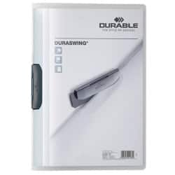 DURABLE Klemmmappe Duraswing A4 Transparent