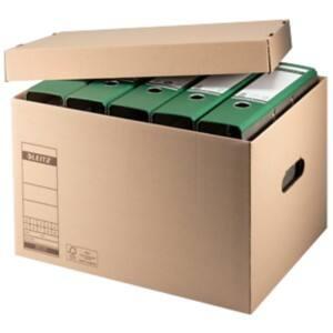 leitz archivboxen 6081 4 hefter braun wellpappe 34 x 45 5 x 27 5 cm 10 st ck viking osterreich. Black Bedroom Furniture Sets. Home Design Ideas