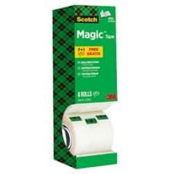 Scotch Klebefilm Magic™ 810 19 mm x 33 m Transparent 8 Rollen