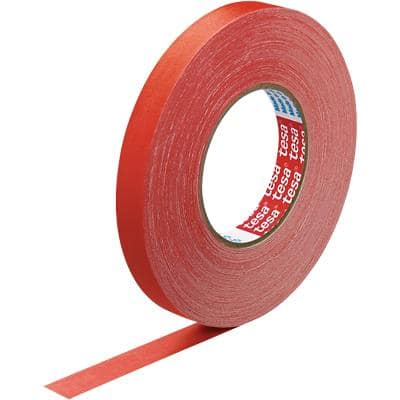 tesa extra Power Gewebeband 57230, 145mesh 19 mm x 50 m Rot