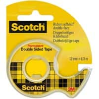Scotch Klebeband-Abroller 665 Transparent 1,2 cm