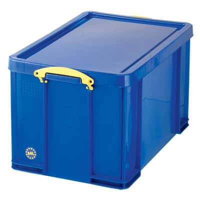 Really Useful Boxes Aufbewahrungsbox Blau 44 x 71 x 38 cm
