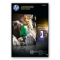HP Fotopapier Advanced Weiß
