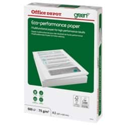 Office Depot Eco Performance Kopierpapier A3 75 g/m² Weiß 500 Blatt