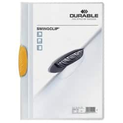 DURABLE Klemmmappe Swingclip A4 Gelb