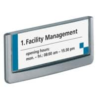DURABLE CLICK SIGN Türschild 4860-37 14,9 x 5,25 cm