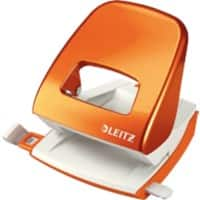 Leitz Locher NeXXt WOW Orange Metallic 30 Blatt 2-fach