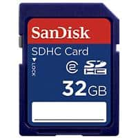 SanDisk SDHC Speicherkarte SD High Capacity 32 GB