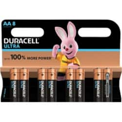 Duracell Batterie Ultra Power AA 8 Stück