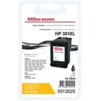 Kompatible Office Depot HP 301XL Tintenpatrone CH563EE Schwarz