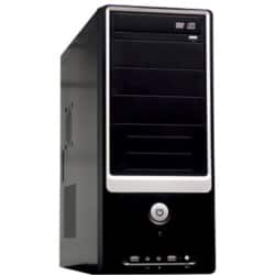 JOY-iT Desktop PC + 22 Zoll Monitor AMD A4-6300 Accelerated Dual CoreTurbo clock frequency 2x 3.7 GHz 500 GB Windows 10 Pro