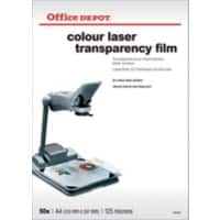 Office Depot Overhead-Folien A4 Transparent 50 Blatt