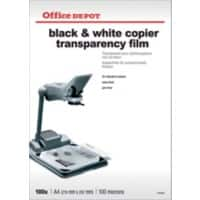 Office Depot Overhead-Folien A4 Transparent 100 Blatt
