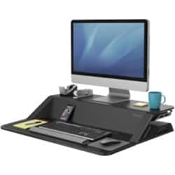 Fellowes Sitz-Steh Workstation Lotus™ Schwarz