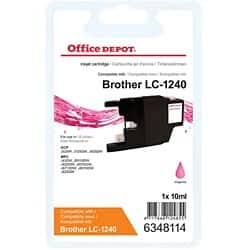 Kompatible Office Depot Brother LC1240M Tintenpatrone Magenta