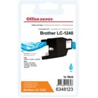 Kompatible Office Depot Brother LC1240C Tintenpatrone Cyan