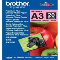 Brother Fotopapier BP71GA3 A3 260 g/m² Weiß