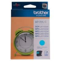 Brother LC125XLC Original Tintenpatrone Cyan