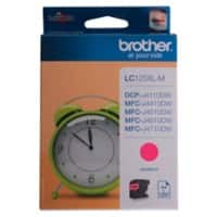 Brother LC125XLM Original Tintenpatrone Magenta