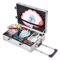 Legamaster Moderationskoffer Professional Travel Silber 54 x 35 cm