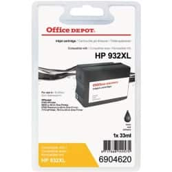 Kompatible Office Depot HP 932XL Tintenpatrone CN053E Schwarz