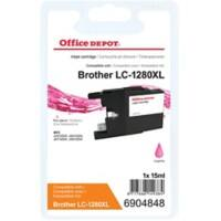 Kompatible Office Depot Brother LC1280XLM Tintenpatrone Magenta